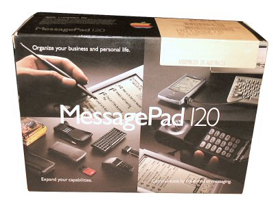 [31k] Apple Newton Messagepad 120 box